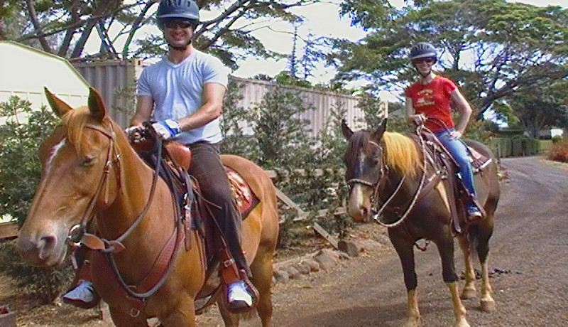 Private Ranch Ride - Makani Olu Ranch
